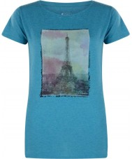 Dare2b Ladies Tower Above Enamel Blue Marl T-Shirt