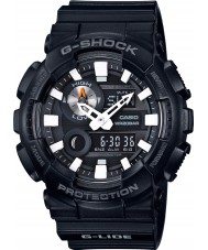 Casio GAX-100B-1AER Mens G-Shock World Time Black Resin Strap Watch