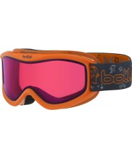 Bolle 21519 AMP Orange Monster - Vermillon Ski Goggles - 3-8 Years