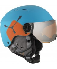 Cebe CBH209 Fireball Jr Blue Orange Ski Helmet - 49-54cm