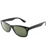 RayBan RB4207 52 Tech Liteforce Matte Black 601S9A Polarized Sunglasses