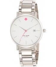 Kate Spade New York 1YRU0008 Ladies Gramercy Grand Silver Steel Bracelet Watch