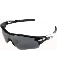Oakley OO9181-19 Radarlock Path Polished Black - Black Iridium Sunglasses