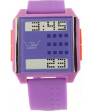 LTD Watch LTD-130405 Purple Pink Mix and Match Digital Watch