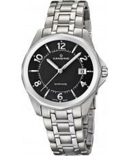 Candino C4491-4 Mens Black and Silver Steel Bracelet Watch