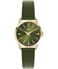 Henry London HL25-S-0094 Ladies Chiswick Moss Green Leather Strap Watch