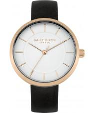 Daisy Dixon DD028BRG Ladies Taylor Black Leather Strap Watch