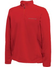 Dare2b Mens Fuseline II Red Core Stretch Midlayer