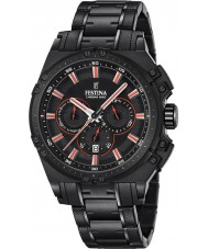 Festina F16969-4 Mens Chrono Bike Black Steel Chronograph Watch