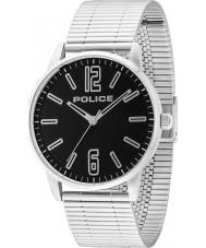Police 14765JS-02M Mens Esquire Silver Steel Bracelet Watch