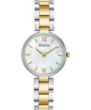 Bulova 98L226 Ladies Dress Two Tone Gold Bracelet Watch