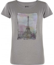 Dare2b Ladies Tower Above Ash Grey Marl T-Shirt