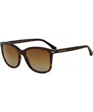 Emporio Armani EA4060 56 Essential Leisure Havana 5026T5 Polarized Sunglasses