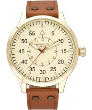 Minster 1949 MN02CRGL10 Mens Bradnor Tan Leather Strap Watch