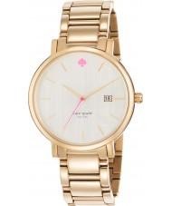 Kate Spade New York 1YRU0009 Ladies Gramercy Grand Gold Plated Bracelet Watch