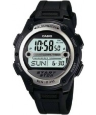Casio W-756-1AVES Collection Black Digital Watch