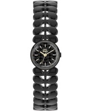 Orla Kiely OK4024 Ladies Laurel Matte Black Steel Bracelet Watch