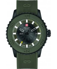 Swiss Military 6-4281-27-006 Mens Twilight Olive Green Silicone Watch