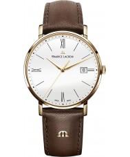 Maurice Lacroix EL1087-PVP01-111-2 Mens Eliros Brown Leather Strap Watch