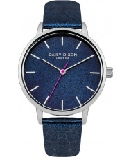 Daisy Dixon DD032US Ladies Naomi Navy PU Strap Watch