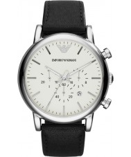 Emporio Armani AR1807 Mens Classic Black Chronograph Watch