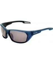 Bolle Aravis Matt Blue Polarized TNS Gun Sunglasses