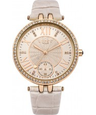Lipsy LP294 Ladies Rose Gold and Nude Strap Watch