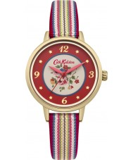 Cath Kidston CKL007RG Ladies Kew Sprig Multicolour Fabric Strap Watch