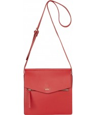 Fiorelli FH8632-RED Ladies Mia Piller Box Red Crossbody Bag
