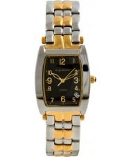 Krug Baümen 1965KM-T Mens Tuxedo Black Gold Silver Watch