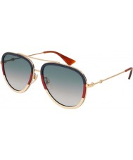 Gucci Ladies GG0062S 013 57 Sunglasses