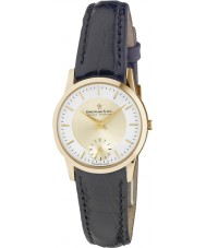 Dreyfuss and Co DLS00002-03 Ladies 1946 Gold Black Watch