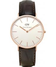 Daniel Wellington 0510DW Ladies Classic York 36mm Rose Gold Watch