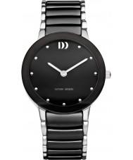 Danish Design Q63Q1065 Mens Black Ceramic Bracelet Watch