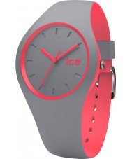 Ice-Watch 001498 Ice Duo Grey Silicone Strap Watch