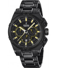 Festina F16969-3 Mens Chrono Bike Black Steel Chronograph Watch