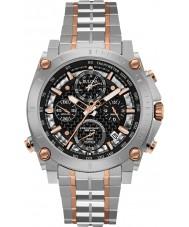Bulova 98G256 Mens Precisionist Silver Chronograph Watch