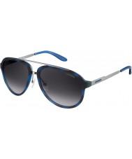 Carrera Mens Carrera 96-S TJU 9C Blue Havana Dark Ruthenium Sunglasses