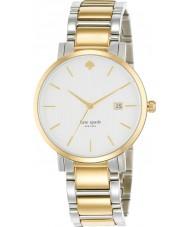 Kate Spade New York 1YRU0108 Ladies Gramercy Grand Two Tone Steel Bracelet Watch