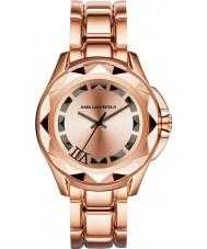 Karl Lagerfeld KL1032 Karl 7 Rose Gold Steel Bracelet Watch