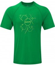 Ronhill Mens Stride Hexagon SS T-Shirt