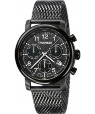 Wenger 01-1043-108 Mens Urban Classic Gunmetal IP Chronograph Watch