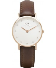 Daniel Wellington DW00100059 Ladies Classy St Mawes 26mm Rose Gold Watch