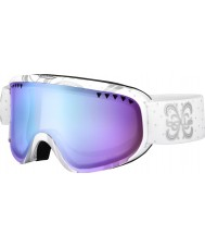 Bolle 21321 Scarlett Shiny White Night - Aurora Ski Goggles