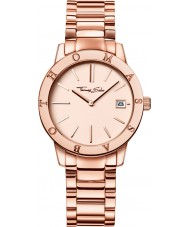 Thomas Sabo WA0175-265-208-33mm Ladies Classic Rose Gold Plated Bracelet Watch