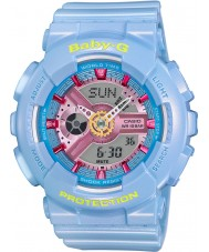 Casio BA-110CA-2AER Ladies Baby-G World Time Blue Resin Strap Watch