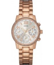 Guess W0623L2 Ladies Mini Sunrise Rose Gold Plated Bracelet Watch