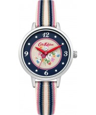 Cath Kidston CKL007US Ladies Clifton Rose Multicolour Fabric Strap Watch