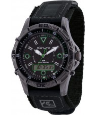 Kahuna K5V-0004G Mens Black Velcro Watch
