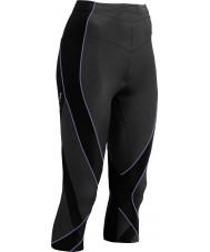 CWX 140806-012-XS Ladies Pro Black and Purple Capri Tights - Size XS
